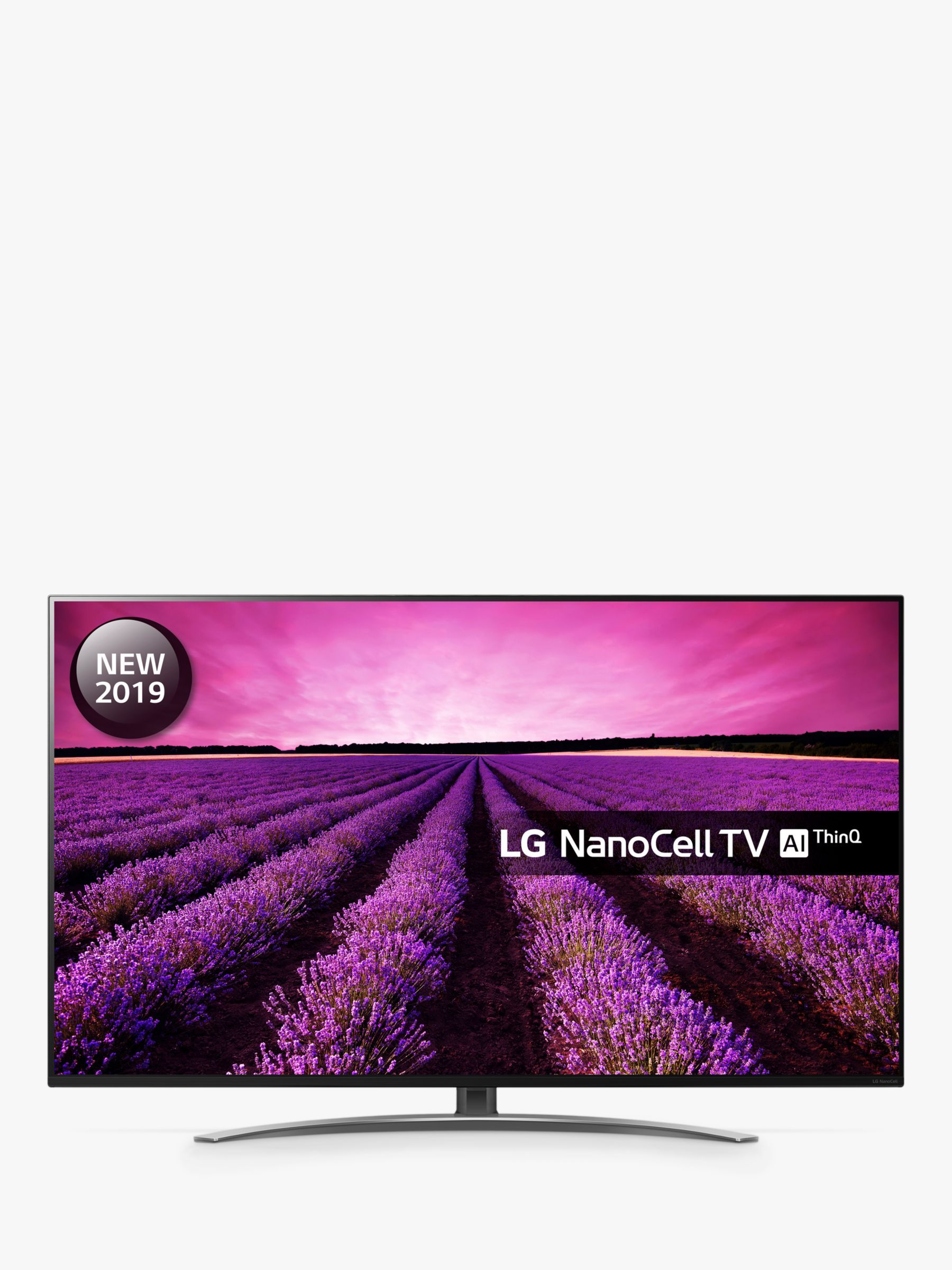 LG 49SM8600PLA (2019) LED HDR NanoCell 4K Ultra HD Smart TV, 49 with Freeview Play/Freesat HD, Cinema Screen Design, Dolby Atmos & Crescent Stand, ... #lightemittingdiode