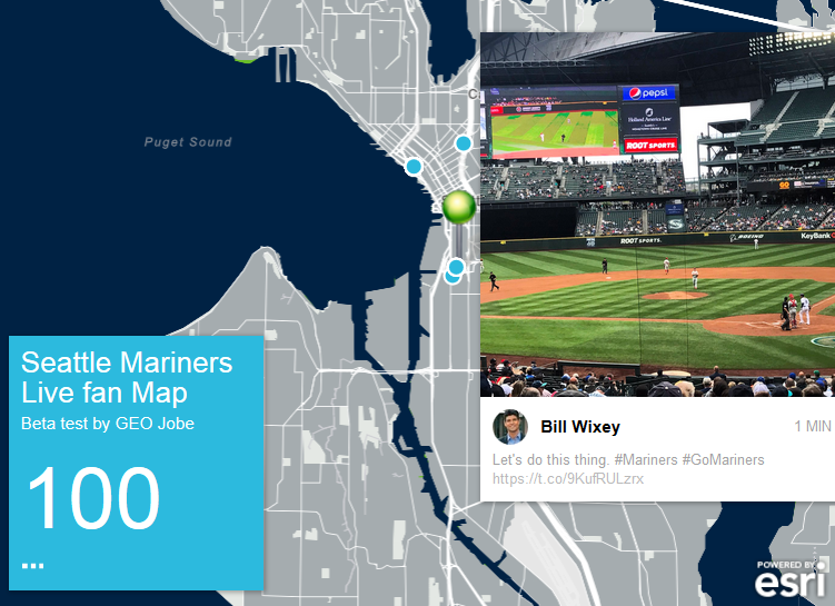How To Build A Live Twitter Map In ArcGIS Online With Live Map - Live map online