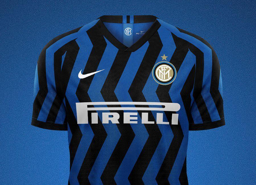 Inter Milan 2020 21 Home Kit Prediction Intermilan Inter Fcinter Fkddesign Inter Milan Milan Football Design