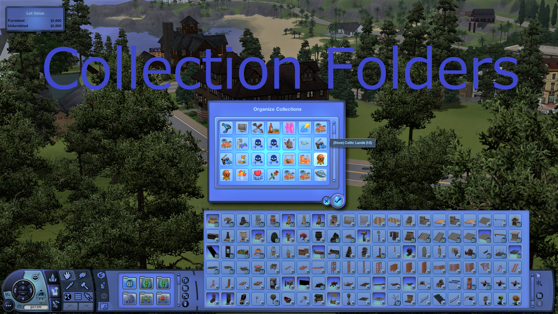 Mod The Sims Collection Folder Files For Decrapified Store Sets Store Contemporary Sims 3 Mods Sims