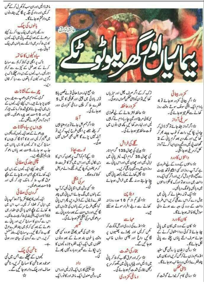 Health knowledge in urdu