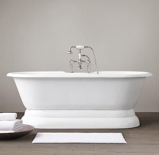 10 Easy Pieces: Classic Freestanding Bathtubs | Restoration Hardware,  Pedestal And Restoration