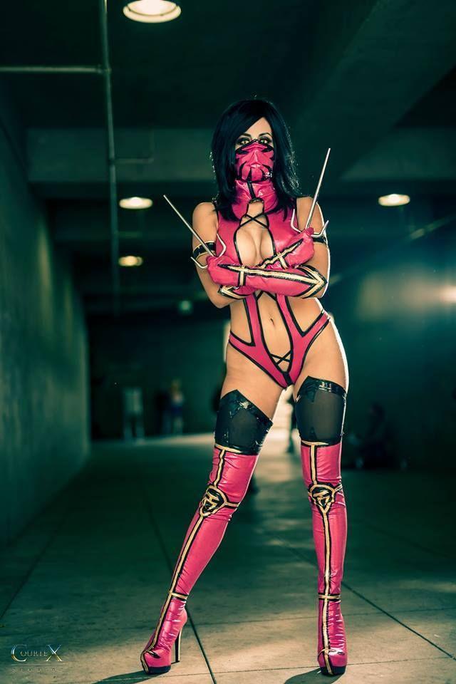 Mileena Cosplay Costume MK10 | Etsy