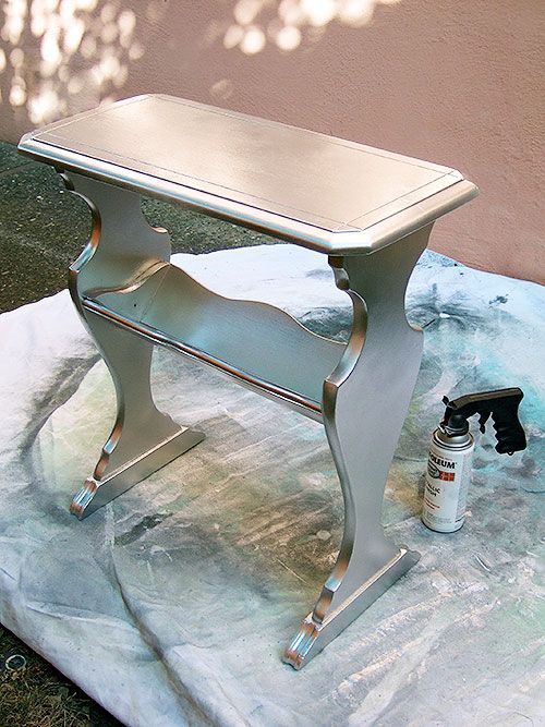 Silver Spray Paint A Lot Simpler Than The Aluminum