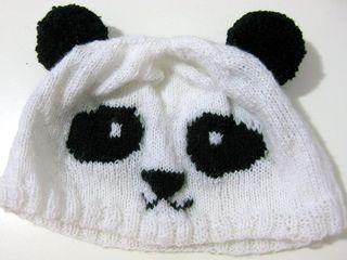 2446562fe Knitted Panda Hat pattern by Heng Qiwen (aka Gwen from Gwenstella ...
