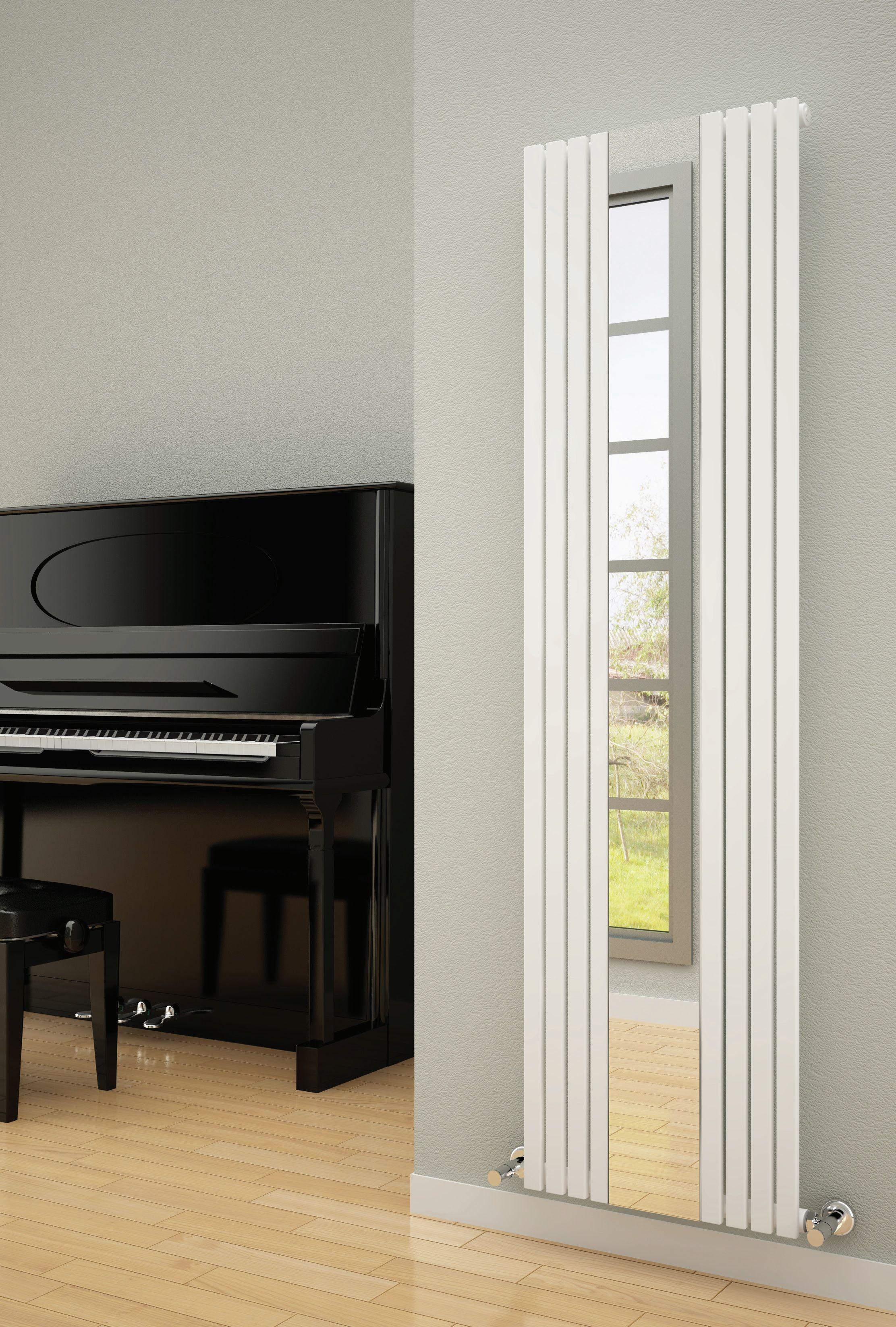 Designer Living Room Radiators: REINA Reflect Designer Radiator
