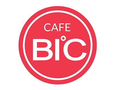 Check Out New Work On My Behance Portfolio Cafe Bic Logo Http On Be Net 1vffafa Pinterest Logo Logos Company Logo