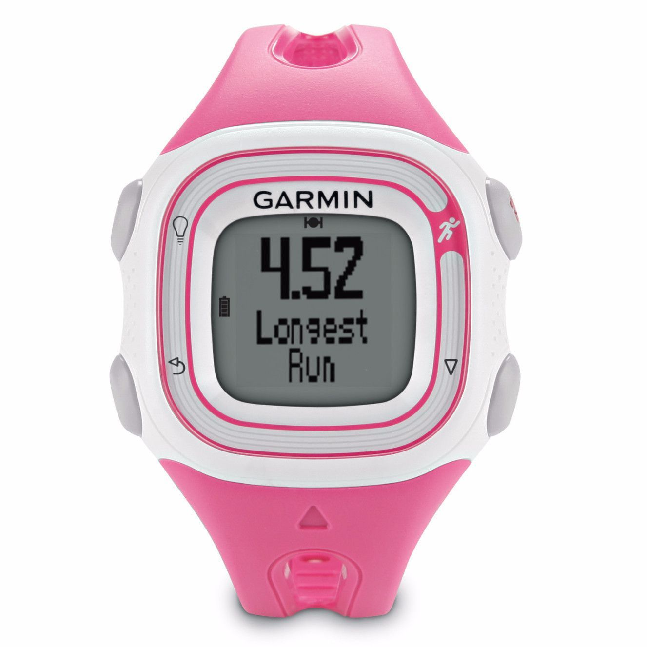 Garmin Forerunner 10 Women's GPS Watch (Pink) - I really wish I had gotten this one. I have the Polar FT4, and although I love it, I wish it tracked miles I run. (MH)