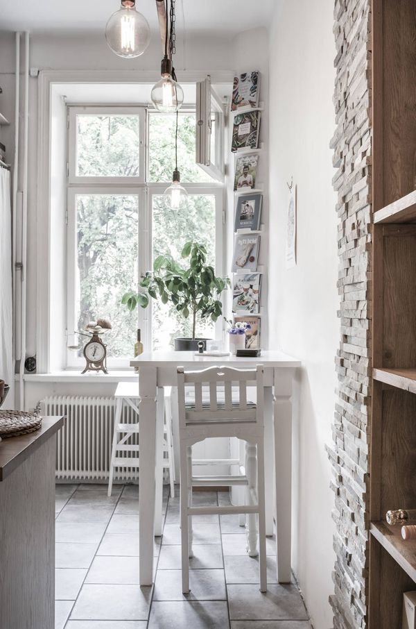 A Swedish apartment in typical Scandinavian style