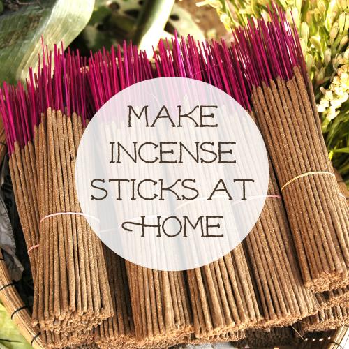 Make Incense Sticks At Home Eternal Essence Oils Homemade Incense How To Make Incense Incense Sticks