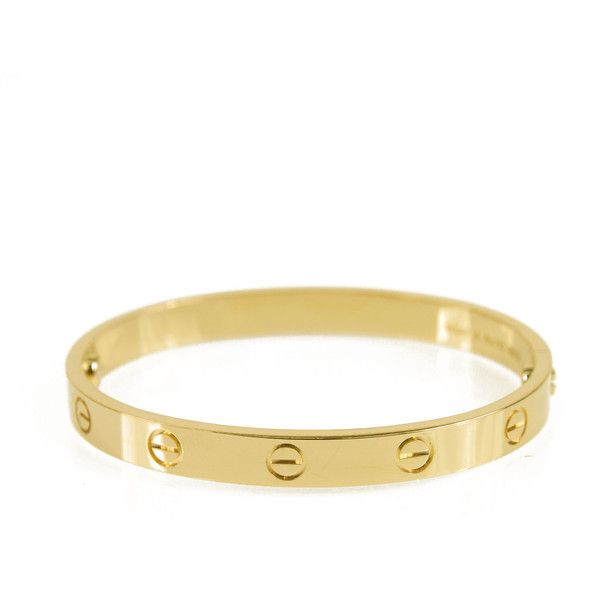 Pre Owned Cartier Love Bracelet Size 16 5 800 Liked On Polyvore Featuring