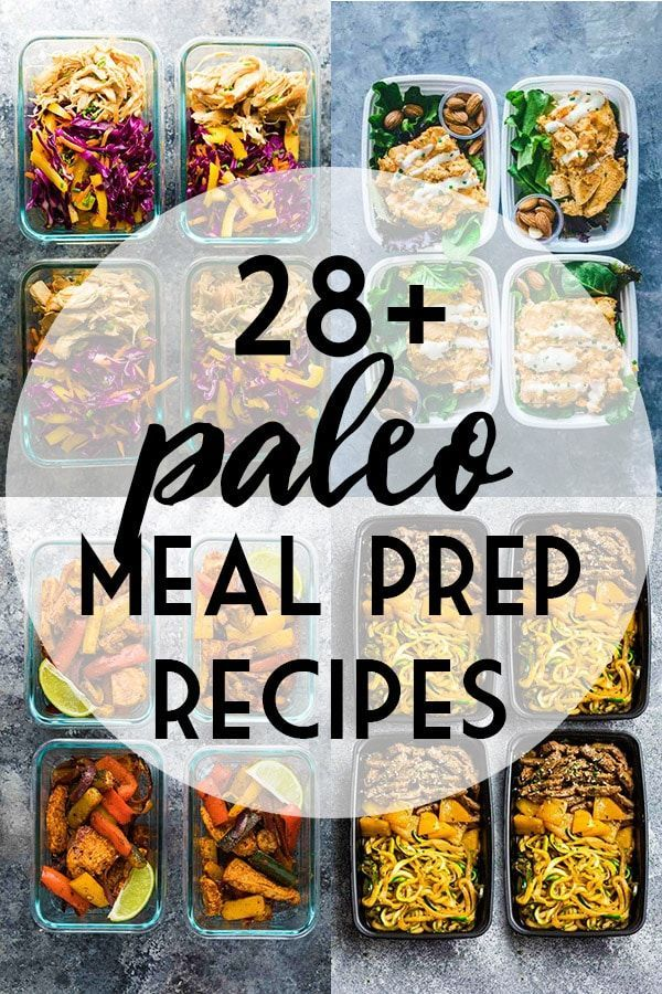 Paleo Meal Prep Recipe Ideas