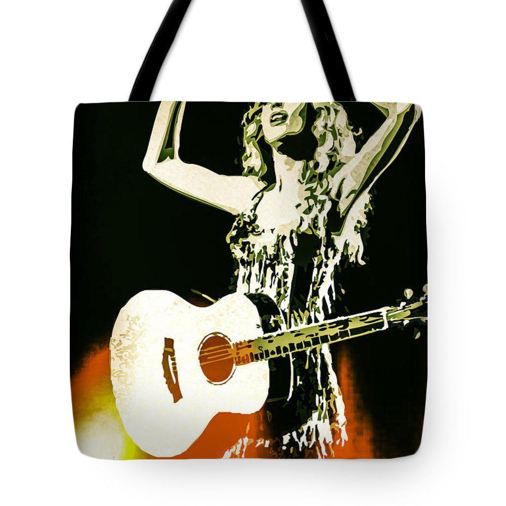 Tote bag with #celebrity Taylor Swift #TaylorSwift #bag #totebag #pouch #satchel #sack #carryingcase #handbag #art #popart #vector #celebs #portrait