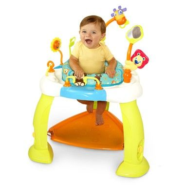 Bright Starts Stoel.Bright Starts Baby Speel En Springtafel De Baby Zal Zich Prima