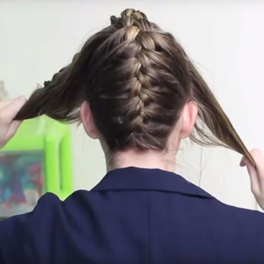 How to make a Dutch braid: hair tutorial for beginners - Luxy H ...#beginners #braid #dutch #hair #luxy #tutorial