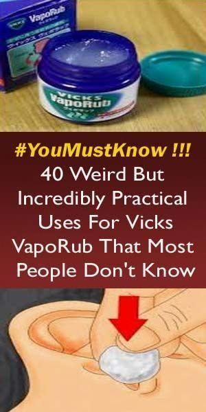 The Vicks Vaporub For Weight Loss Naturally - Home