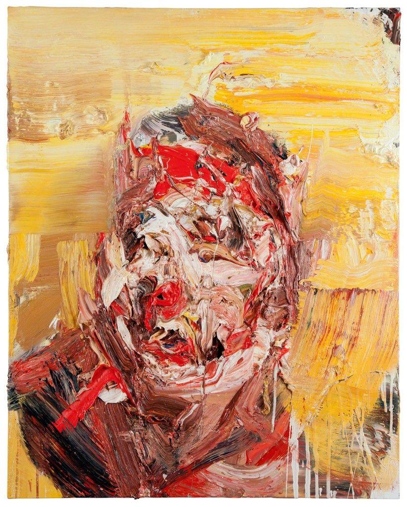 Antony Micallef, 'Self Portrait on Yellow,' 2015