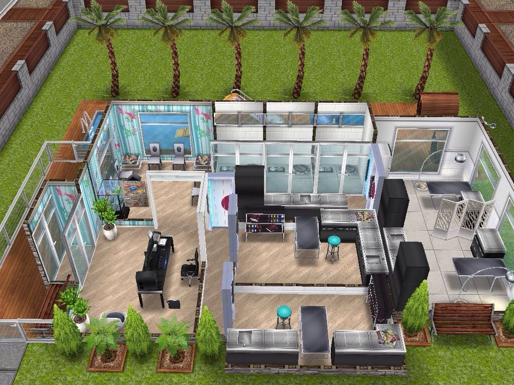 House 93 Small Vet Clinic Sims Simsfreeplay Simshousedesign