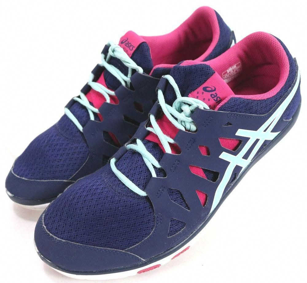 d3b741631c1 Asics Gel-Fit Tempo  65 Women s Running Shoes Size 11.5 Navy Blue Hot Pink   fashion  clothing  shoes  accessories  womensshoes  athleticshoes (ebay  link)   ...
