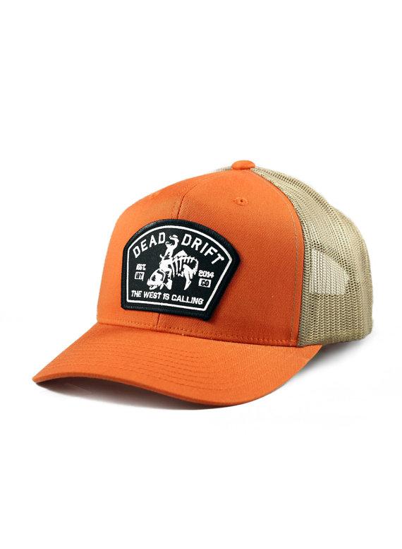 3a8df2c6da9 Fly Fishing Hat West is Calling Snapback Trucker by DeadDrift
