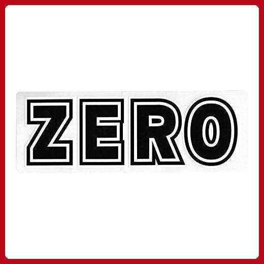 Zero Skateboard Sticker - Bold skateboarding skate skating sk8 New - For  all the skaters ( cc2763509ef