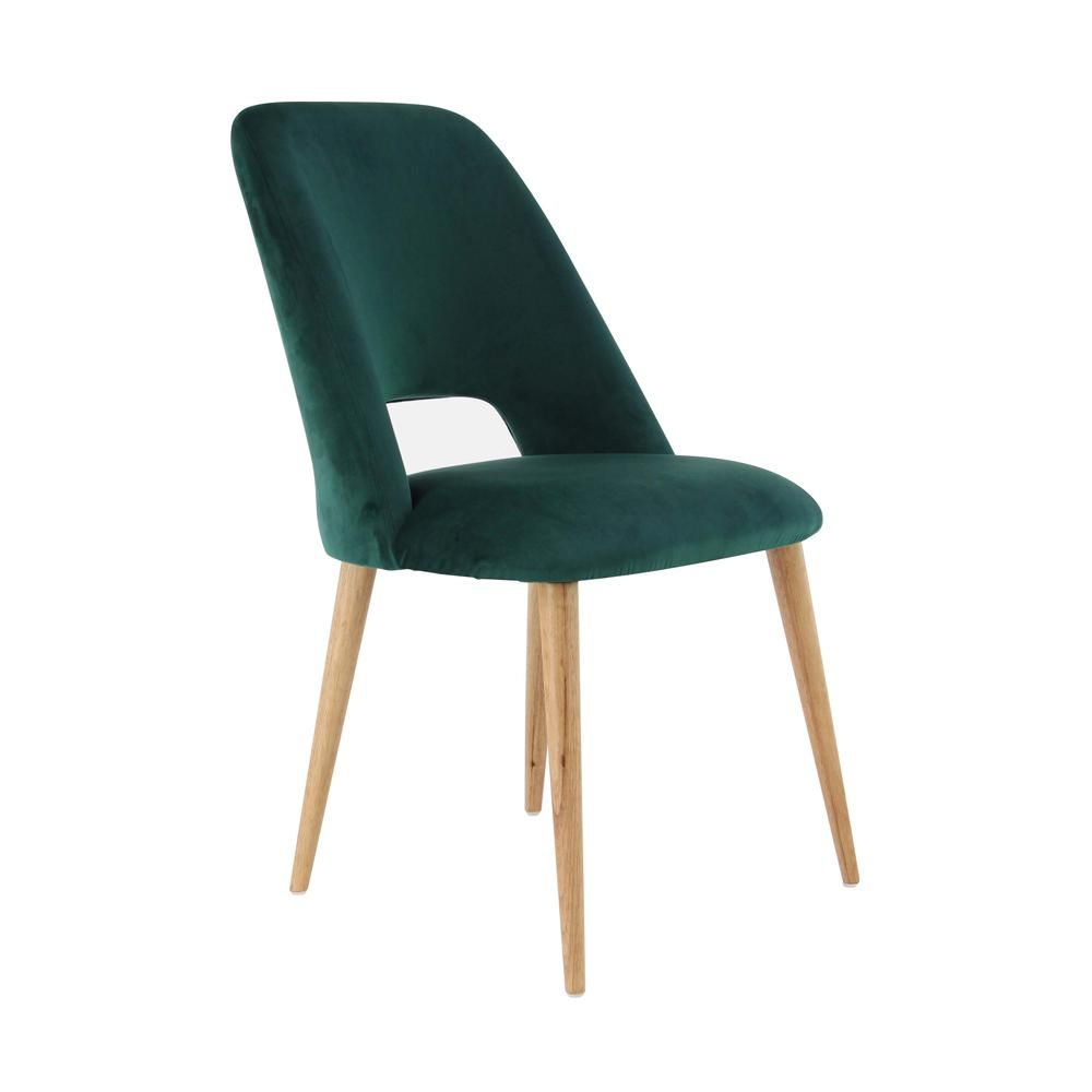 green upholstered dining chairs cheap litton lane wood and fabric cushioned chair in 2018