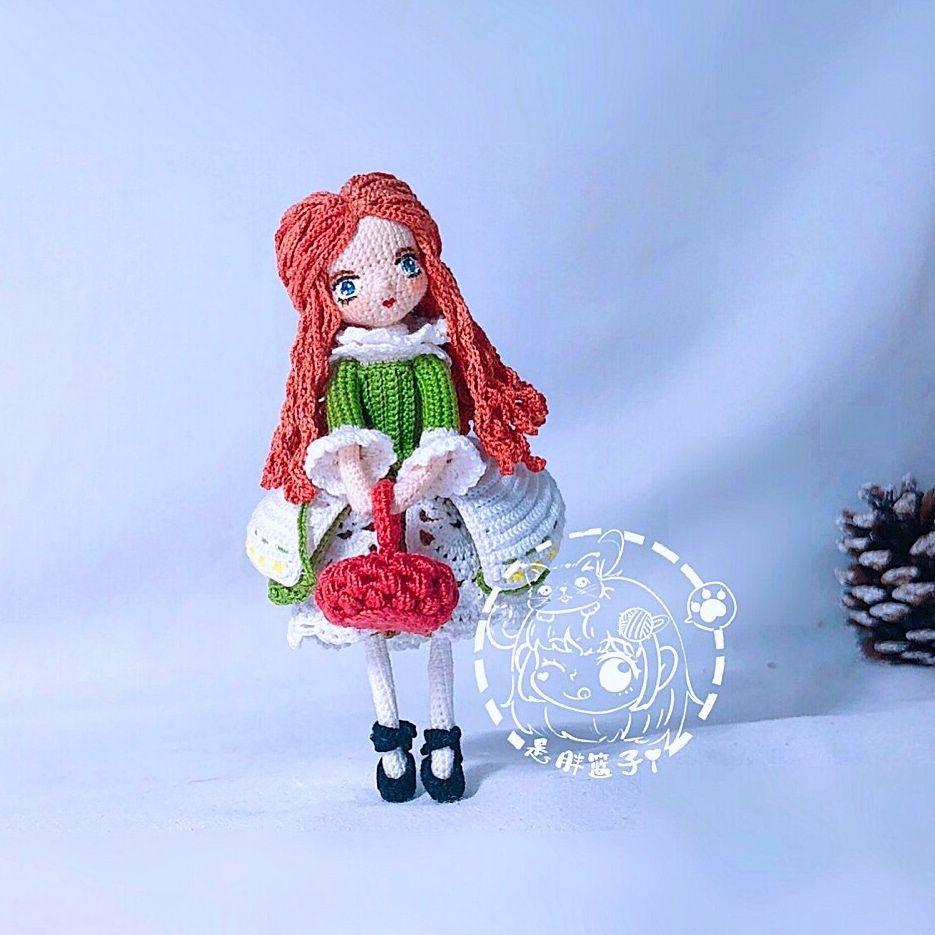 Jossa Handmade - [微博团钩- Weibo Crochet Activity] Q版爱丽丝 ... | 935x935