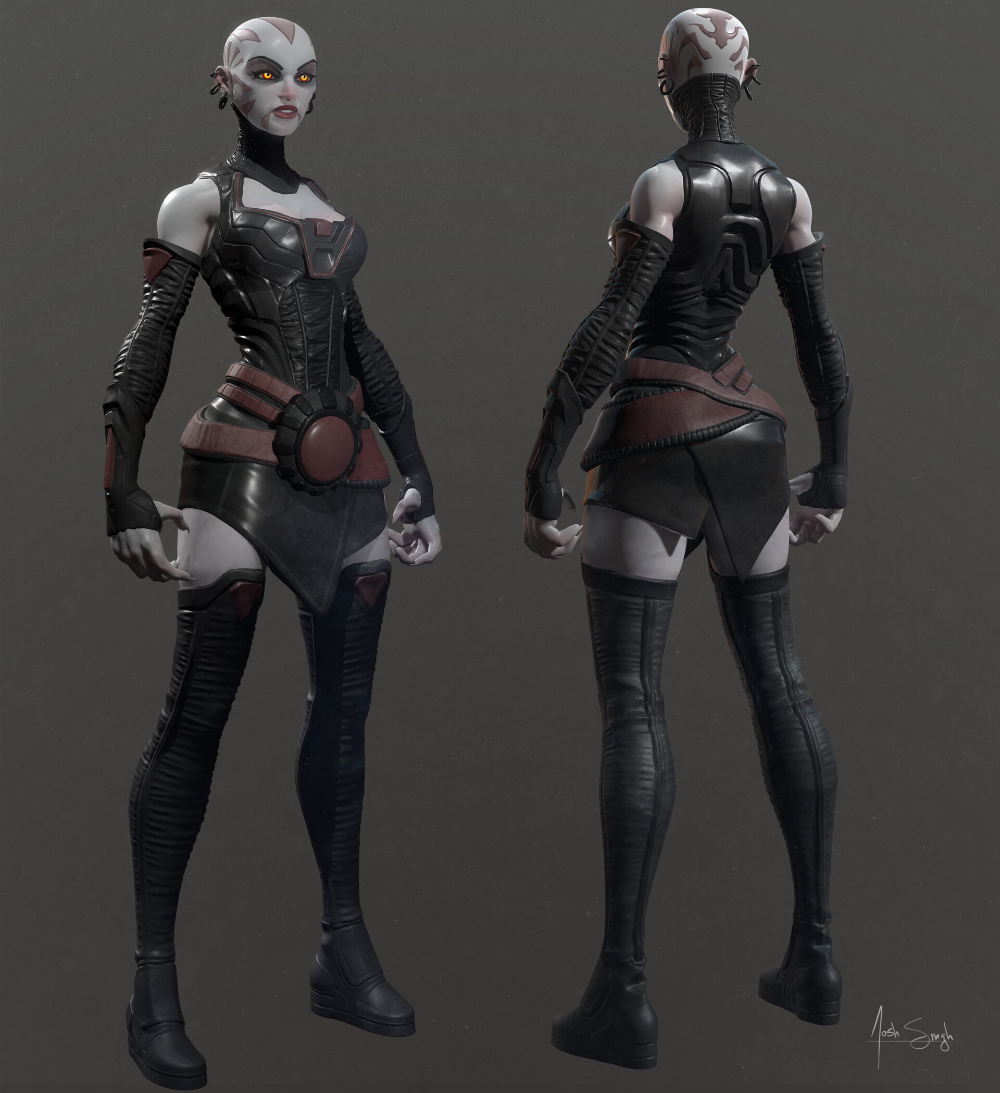 Pin on Character Design Female 3D