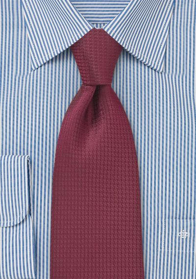 Boys Youth Burgundy Pattern Designer Necktie Ties