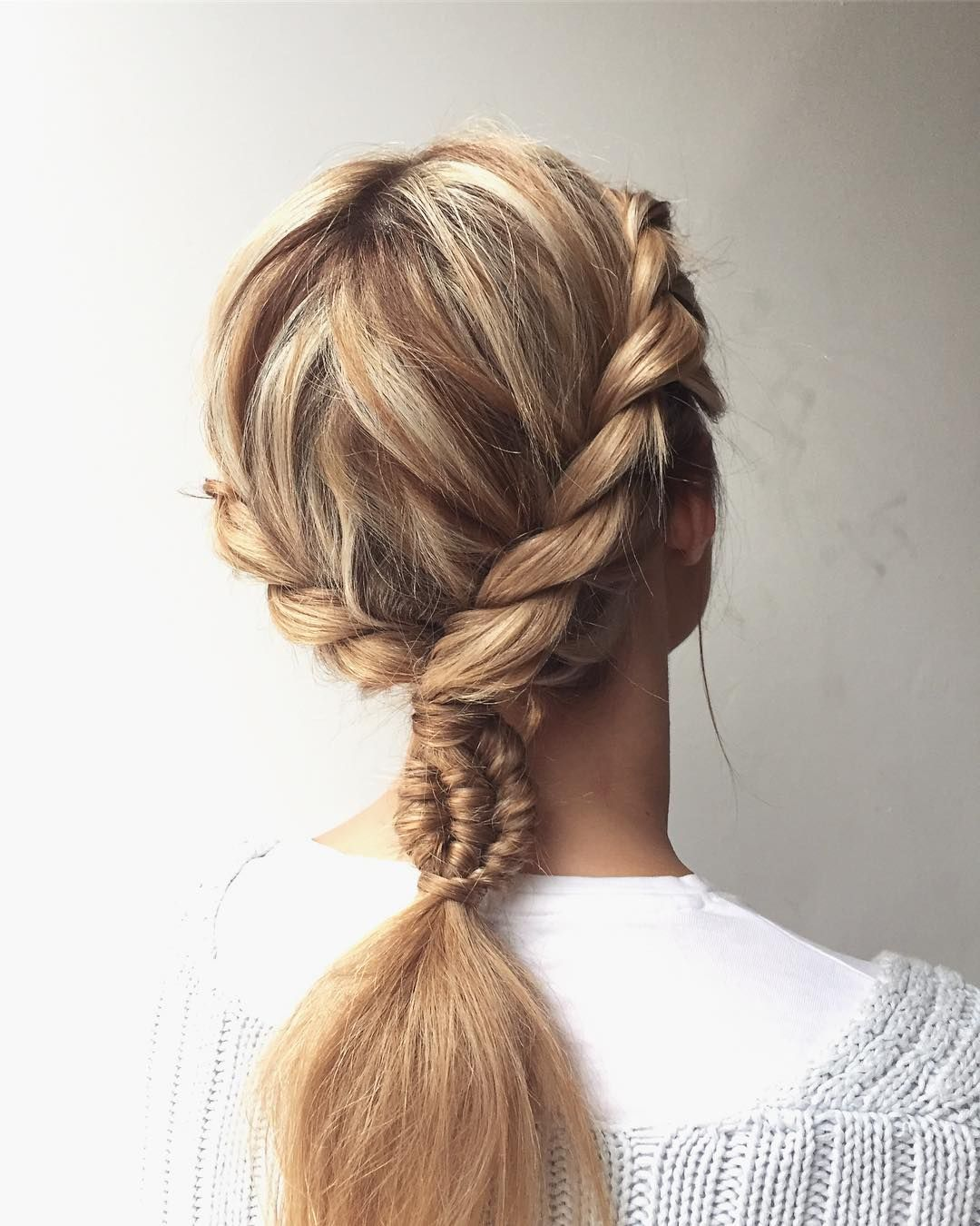 Twists & Braids : Featured hairstyle inspiration - Michael Gray Hair #hairstyle #braids #hair #weddinghairstyle