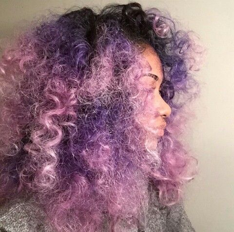 Black girls can have pastel hair too.😍 | We Heart It | hair ...