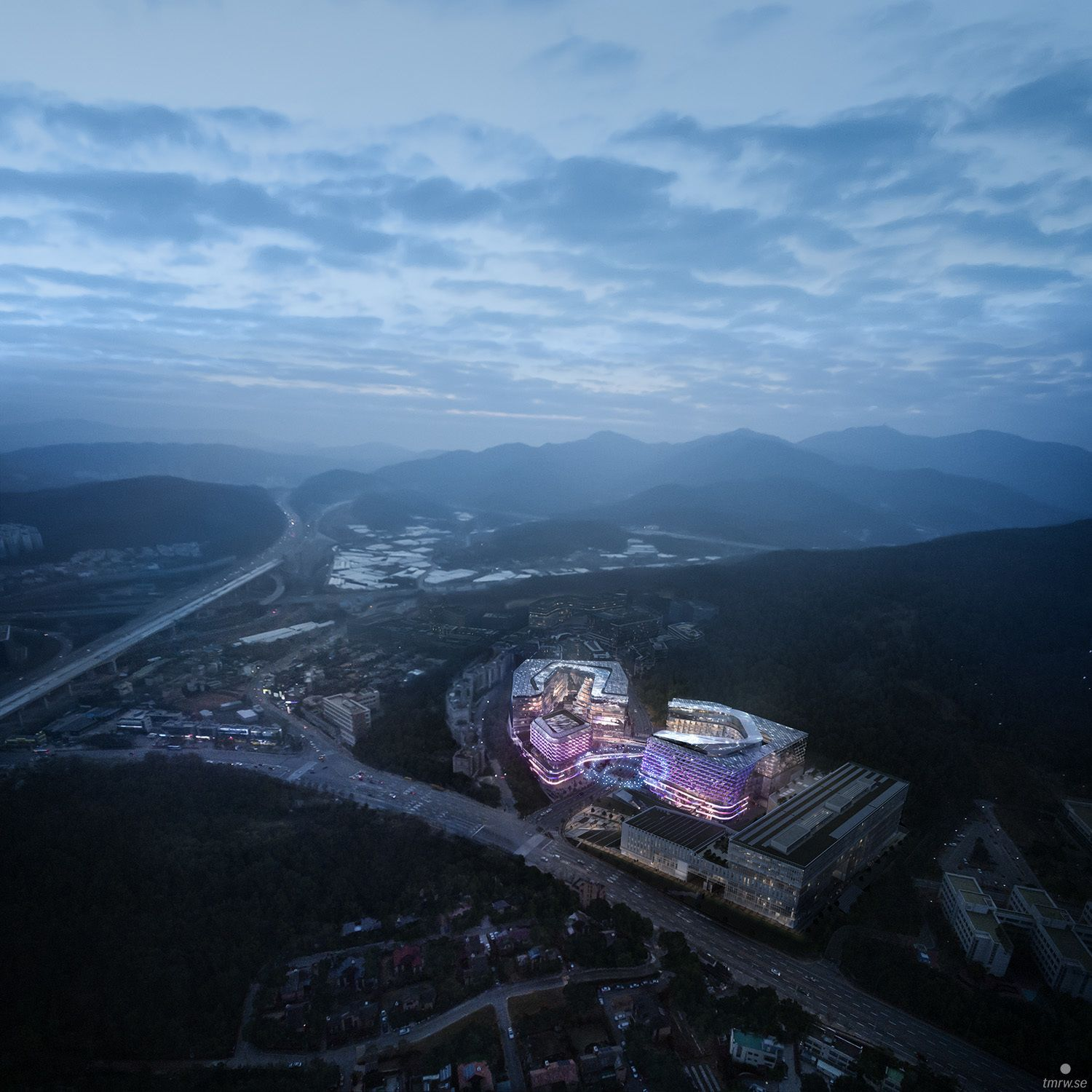 Haeahn Architecture Wins I Square Tech Hub In Seoul Architecture International Design Competition Design Competitions