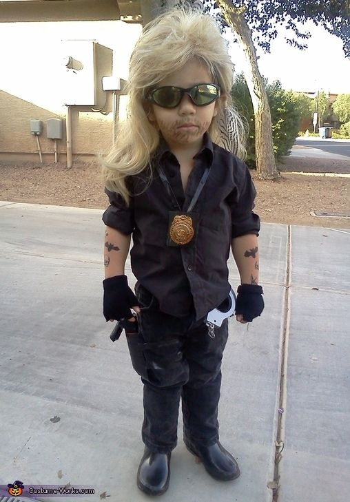 Dog The Bounty Hunter Costume Babies Party Halloween Kids Costumes
