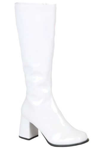 7ffec4b98e4b If you re looking for a boot that is comfortable enough for a go-go dancer  yet versatile enough for Princess Leia consider the Women s White Costume  Boots.