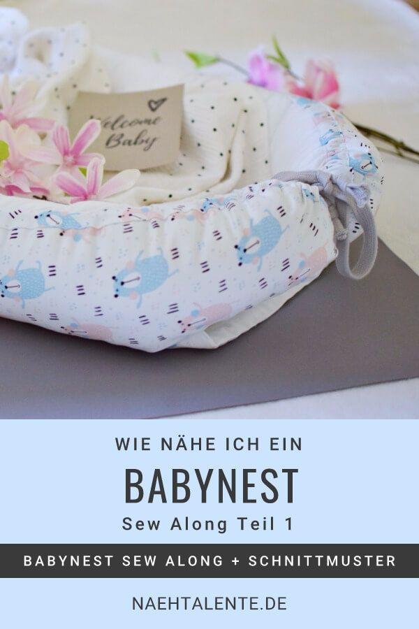 Was ist ein Babynest? Online-Nähkurs & Schnittmuster für Nestchen ...