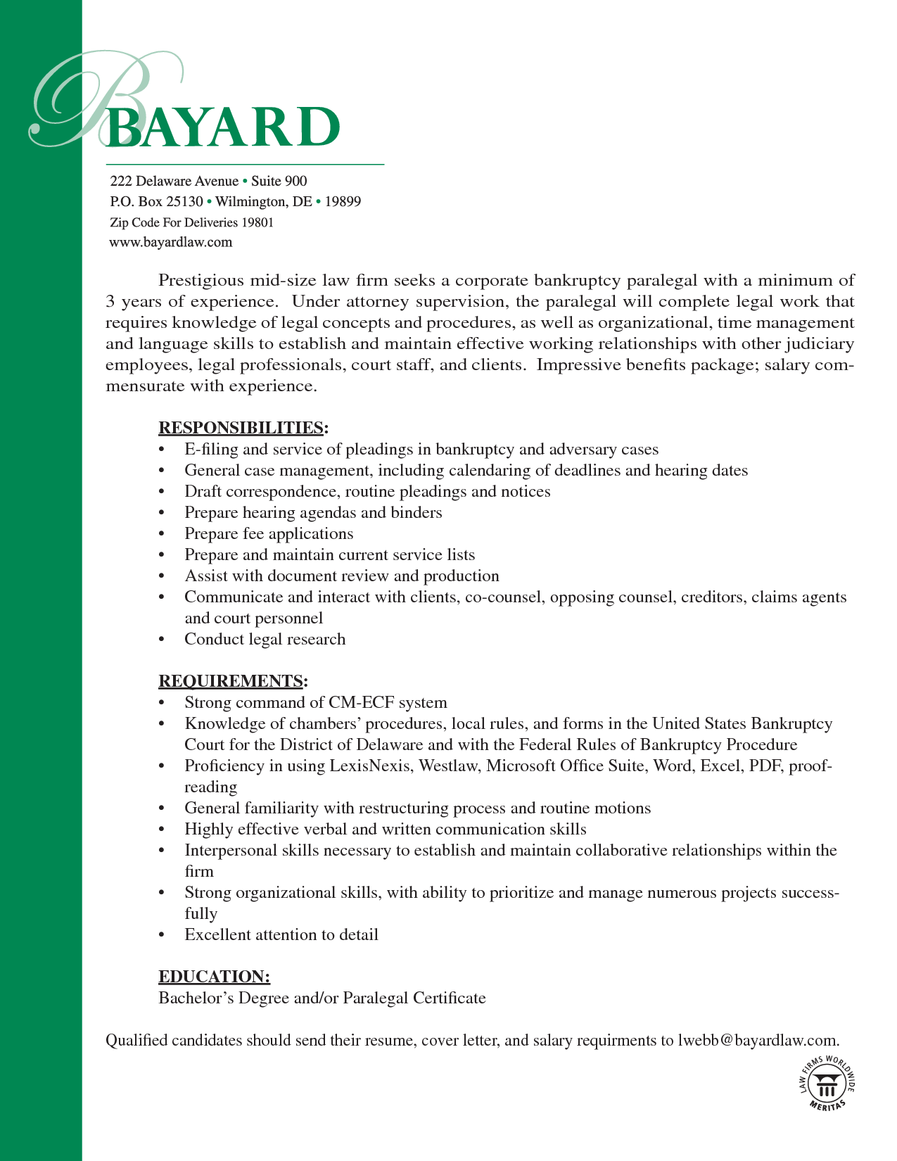 resume cover letter for legal assistant position resume and cover letter chronological emphasize - Resume Letter Or Legal Size