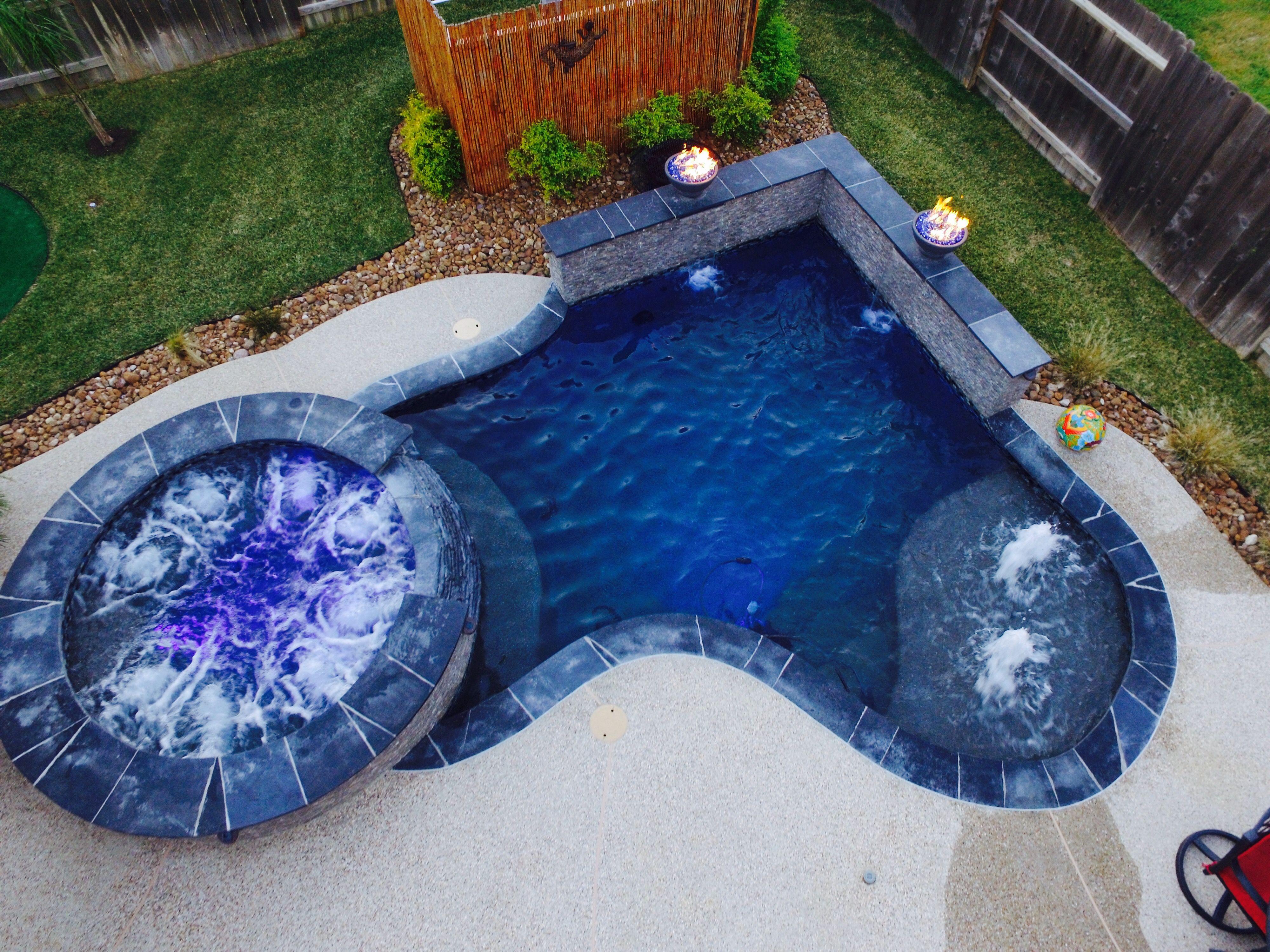 Houston Texas Custom Pool Builder. | Backyard | Pool ...