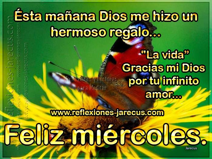 Feliz Miercoles Dios Mio Te Doy Gracias Por Este Nuevo Dia