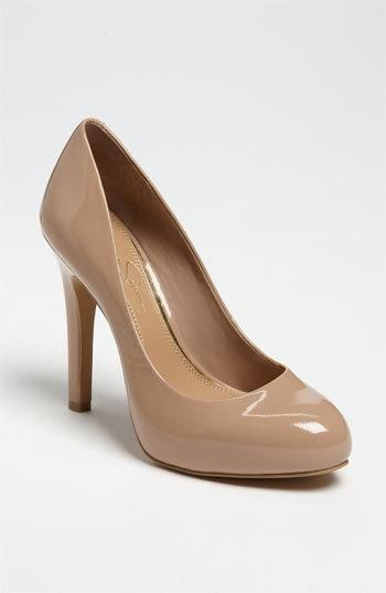 43f19fa89fb3 Jessica Simpson nude  pumps  shoes