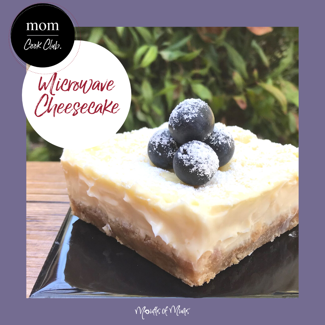 Feeling like a little treat? These Simple Individual Microwave Cheesecakes are just the ticket.  Recipe >  . . #momcookclub #mouthsofmums #nomnom #easyrecipe #delish #homemade #closetohome #sogood #microwaverecipe #cheesecake #microwavecheesecake