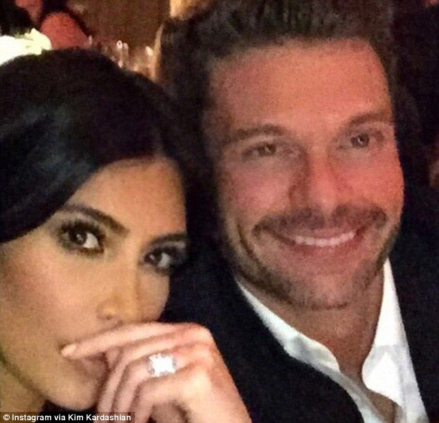 Kim And Khloe Kardashian Celebrate Ryan Seacrest's