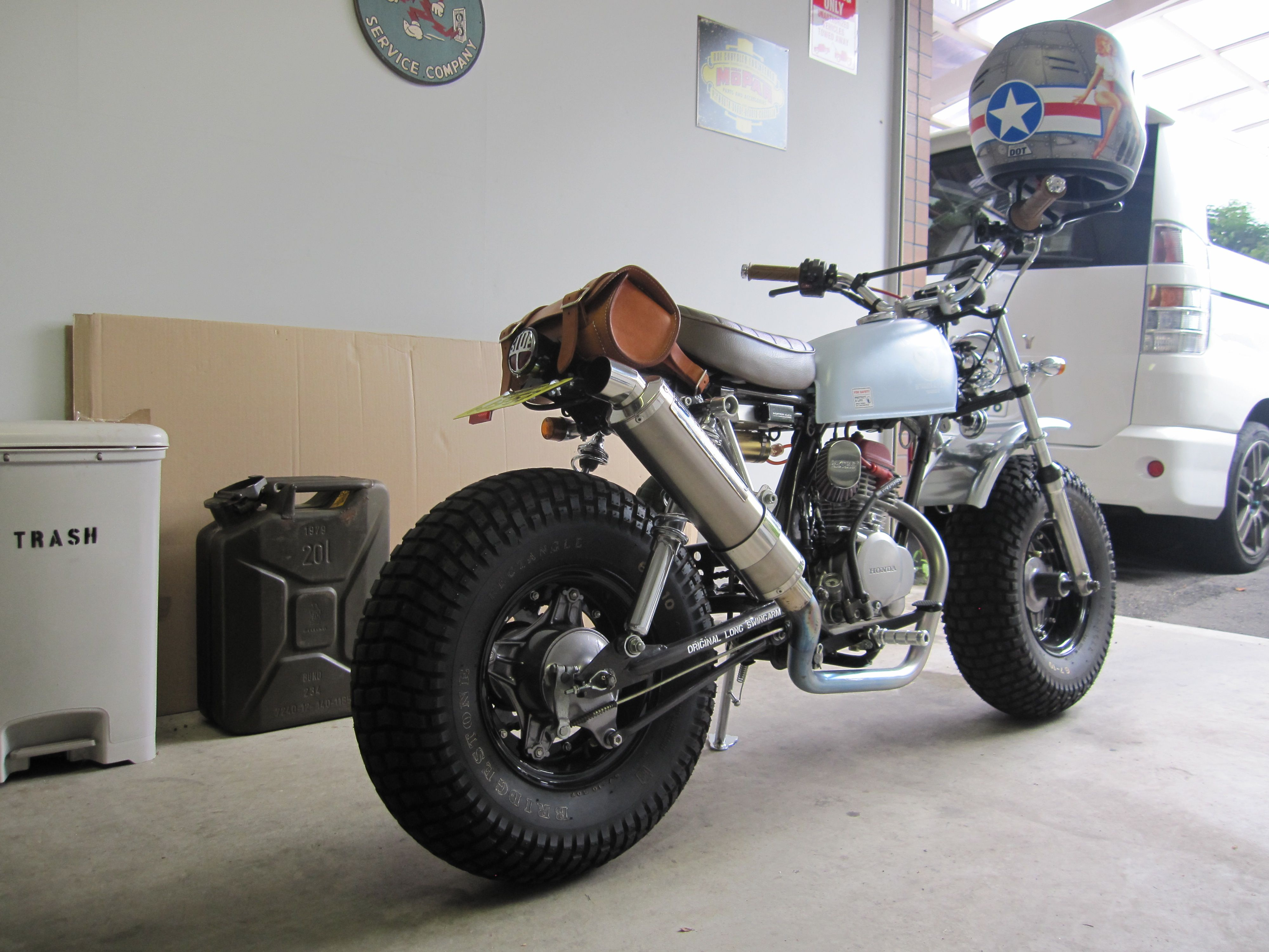 Captivating HONDA NAUTY DAX CY50 CUSTOM. Bike RallyMinibikeMotorcycle ...