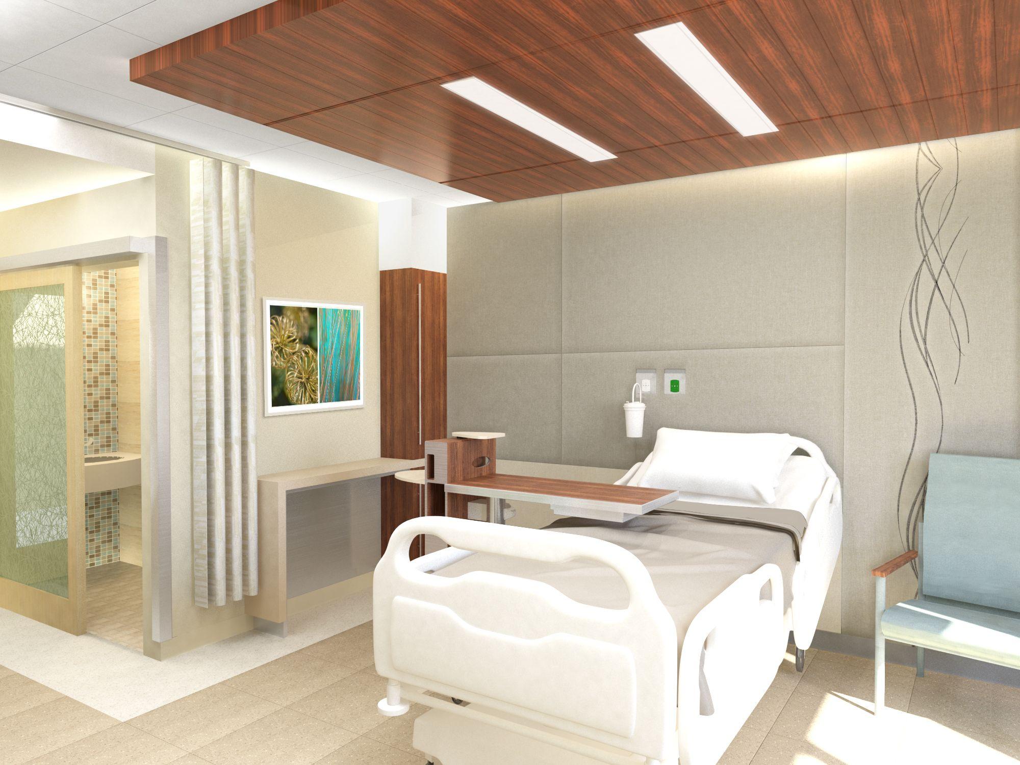 Headwall study healthcare interior design healthcare