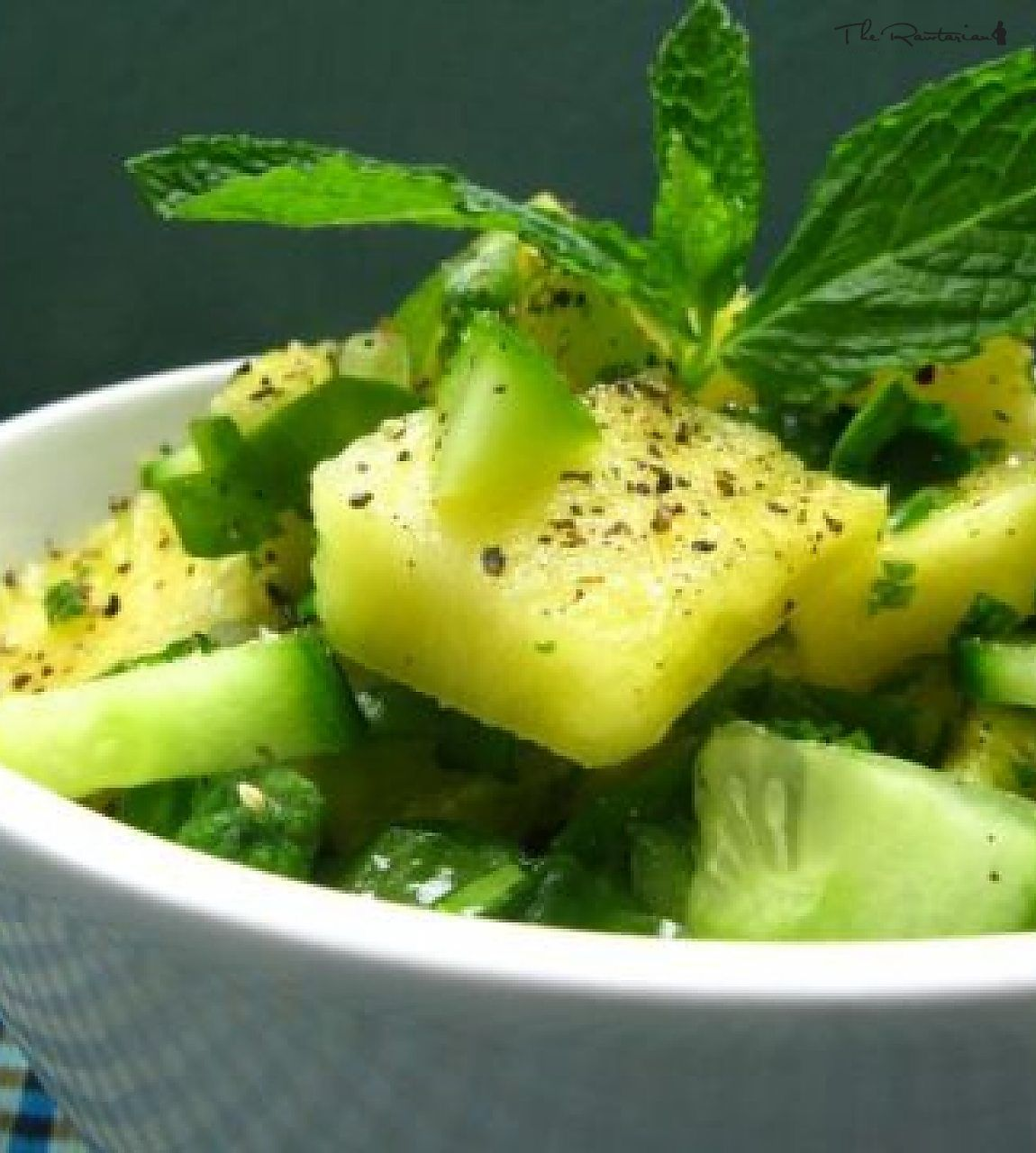 The Rawtarian Community Recipe: Peppered Pineapple