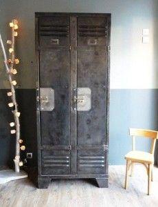 L\'armoire métal de vestiaire trouve sa place partout. | DÉCO ...