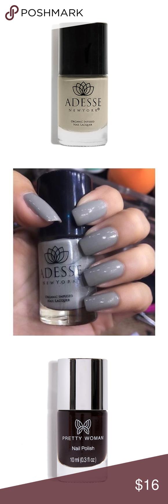 Adesse NY & Pretty Woman Vegan Nail Polish Bundle | Pinterest