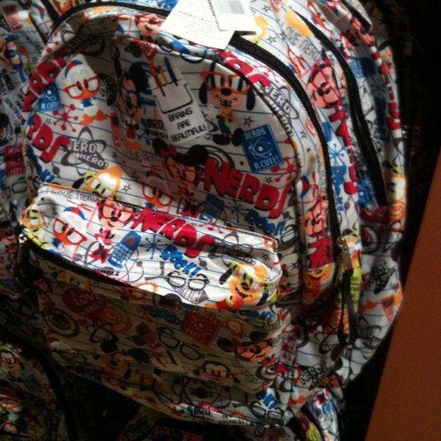 Nerd backpack