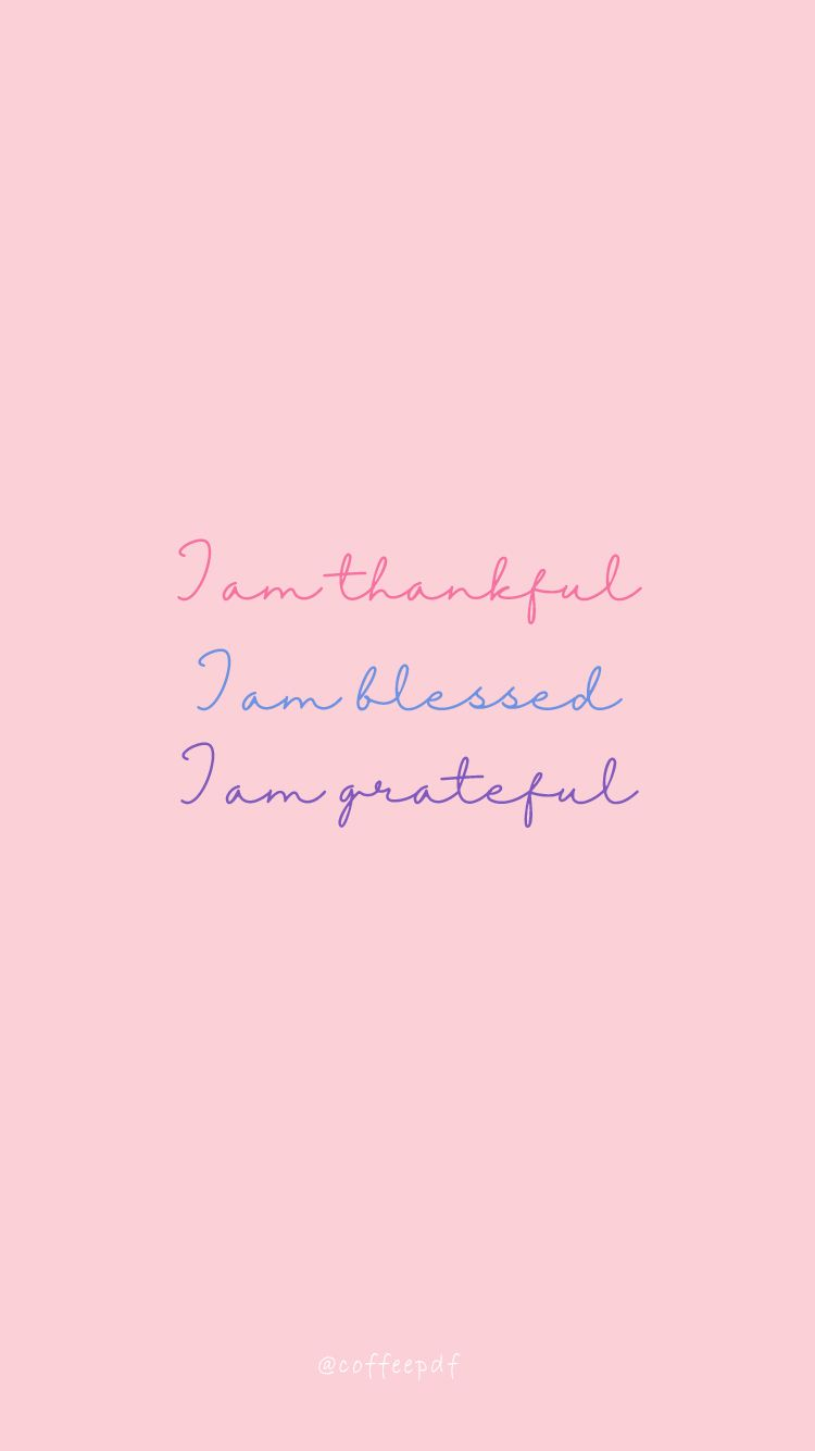 Gratitude quotes wallpapers by coffeepdf