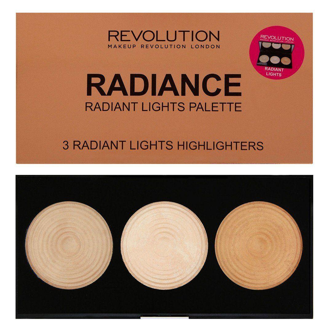 Makeup Revolution Highlighter Palette Radiance 3