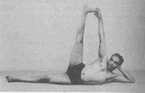 Anantasana Yoga Pose Bks Iyengar Iyengar Yoga Yoga Asanas Yoga For Men